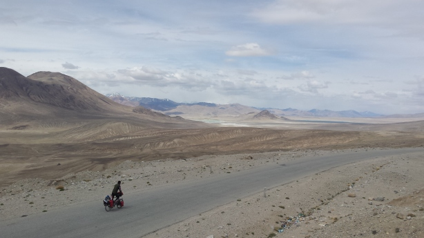 Reece on the Pamir plateau