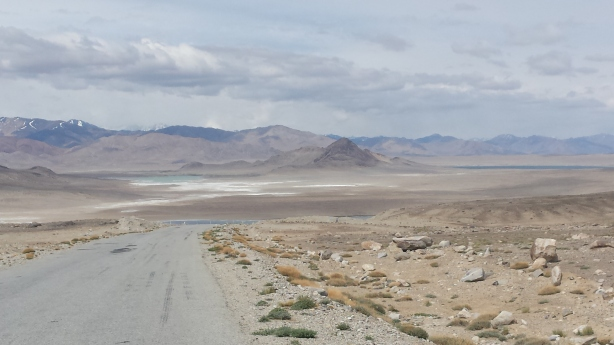 The Pamir plateau