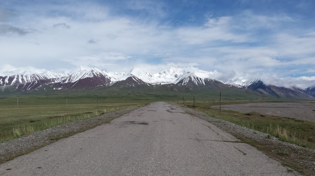 Looking back at the Pamirs