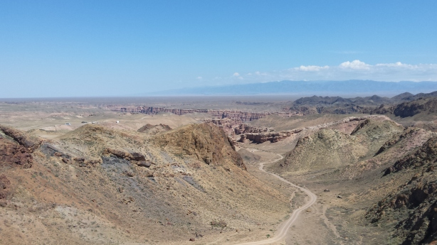 Sharyn canyon