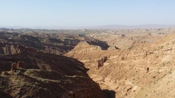Bumpy landscape