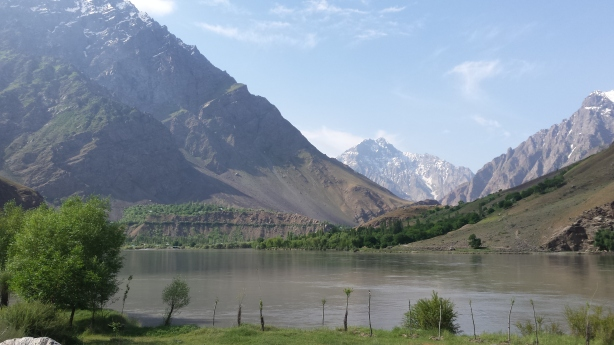 The road to Khorog