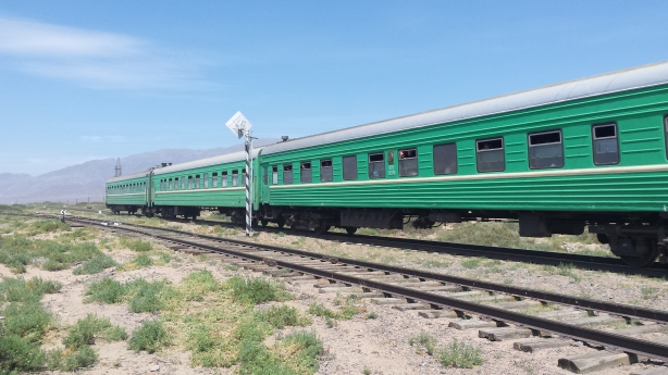 The train to Issykul