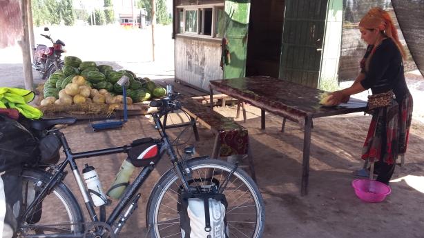 Melon stall