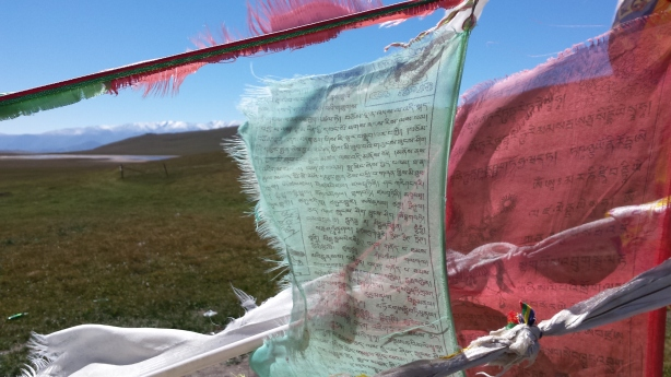 Summit prayer flags