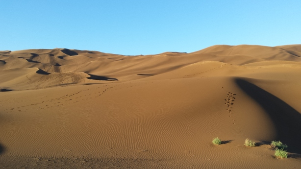 The Shanshan dunes