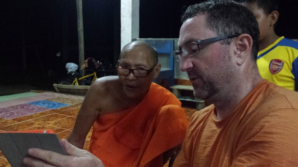 Mark and the monk