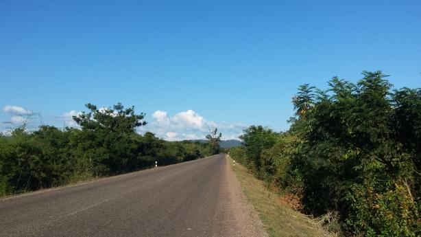The boring road
