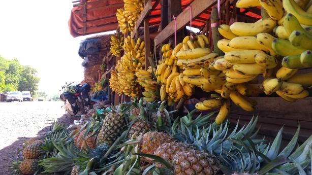 Banana and pineapple stop