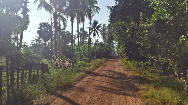 The beautiful road to Koh Preah