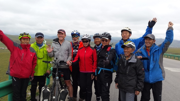 The cyclist group