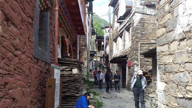 Tibetan tourist village