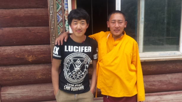 The monk and his soul mate