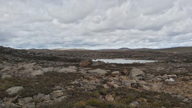 Rocky plateau