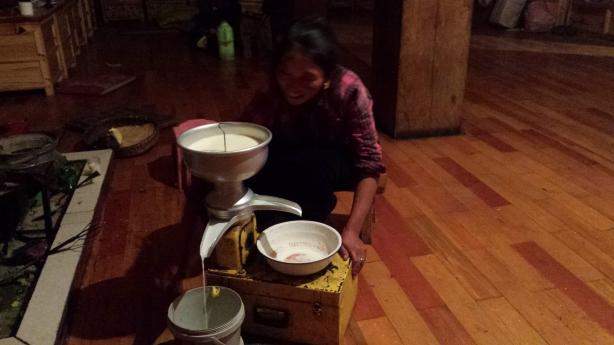Separating the milk