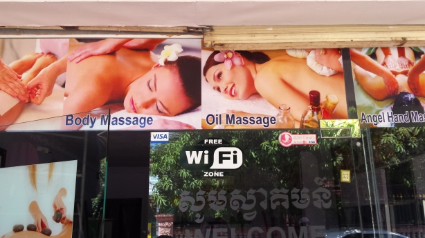 WiFi and massage