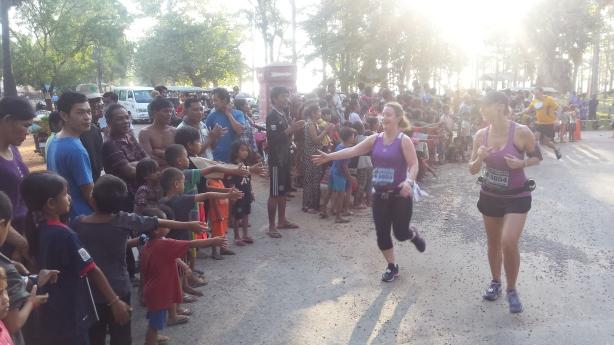 The Angkor Wat half-marathon