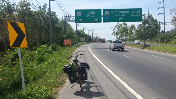 The freeway to Phuket