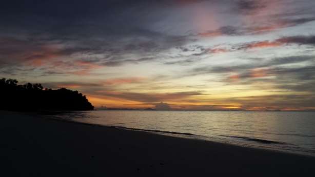 Koh Rok island at sunrise