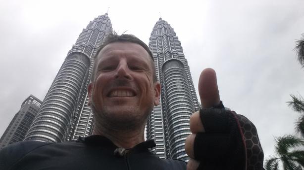 Made it - Petronas towers, Kuala Lumpur