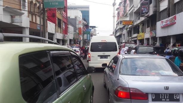 Macet in Bandung