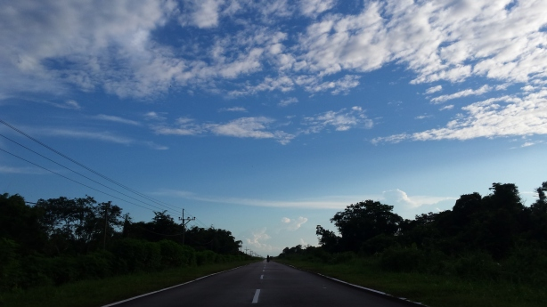 The beautiful sky