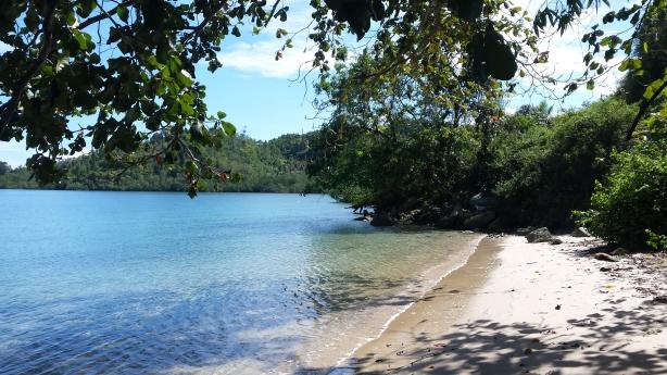 Our idyllic beach