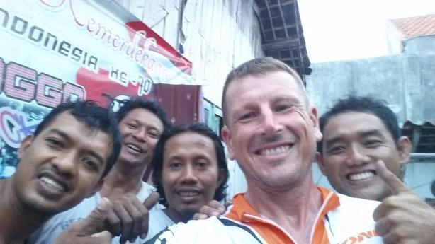 Bike team in Probolinggo