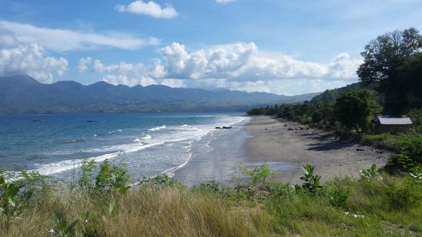 The beach before Ende