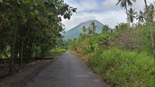 Volcano on Adonara