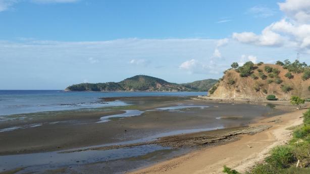 The coastal road to Dili