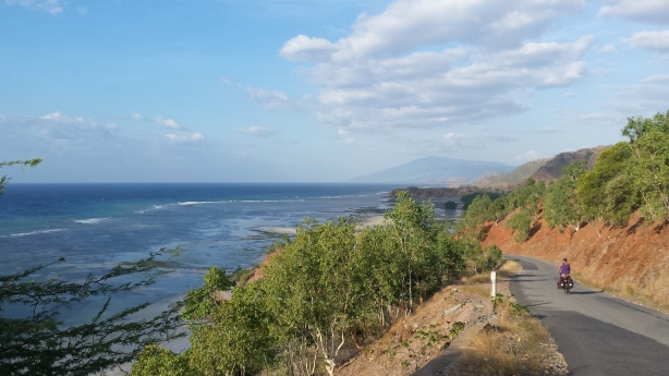 The road out of Dili