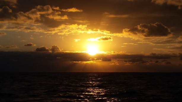 Sunrise on the Timor Sea