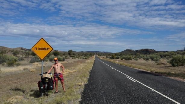 The road to Glen Helen