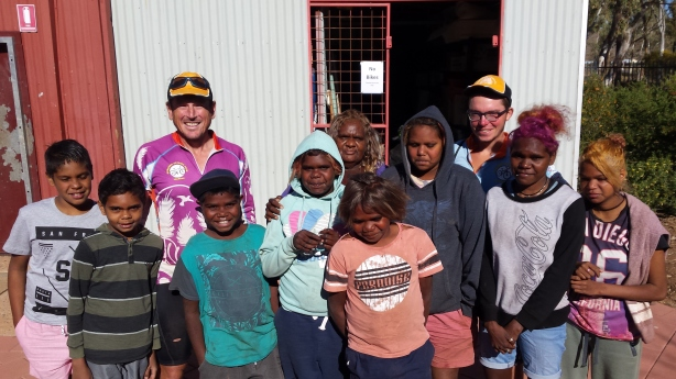 Kids at Ernabella school