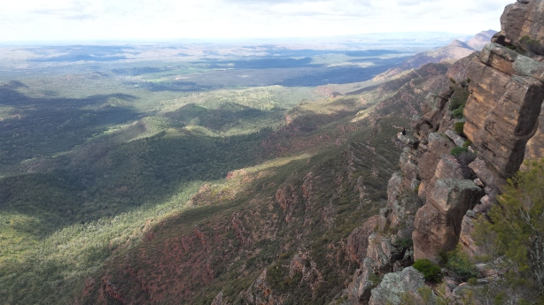 Spot me in this picture - Wilpena Pound