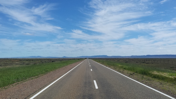 The road to Quorn