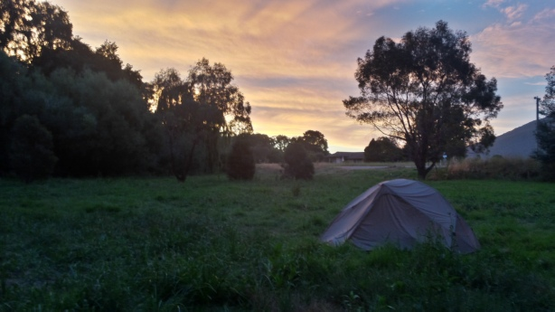 My lovely camping spot