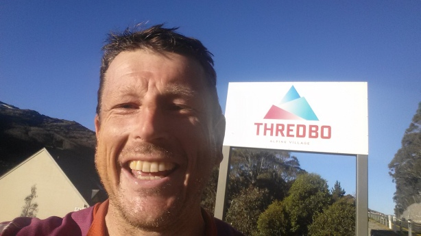 Arrival in Thredbo