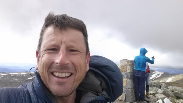 The summit of Koscuiszko