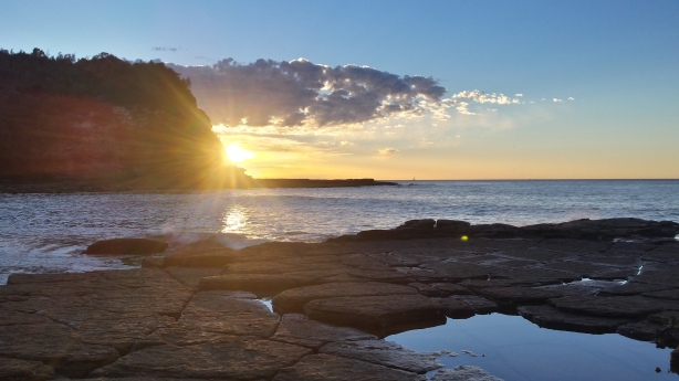 Sunrise at Little Beach
