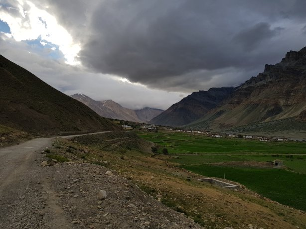 The road to Lossar