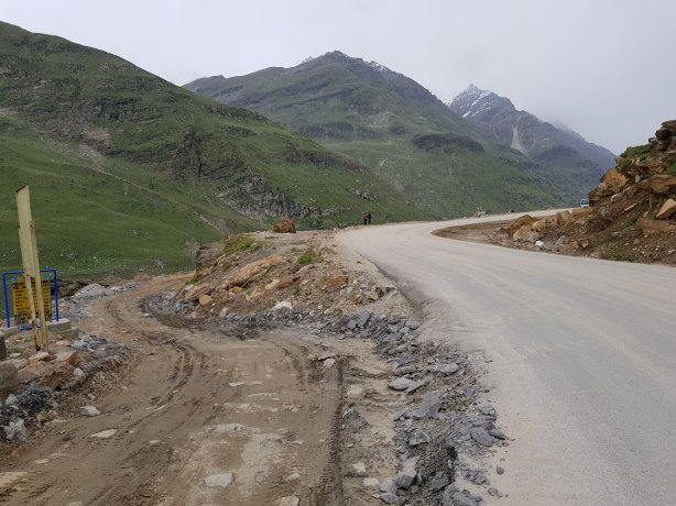 The road to Spiti