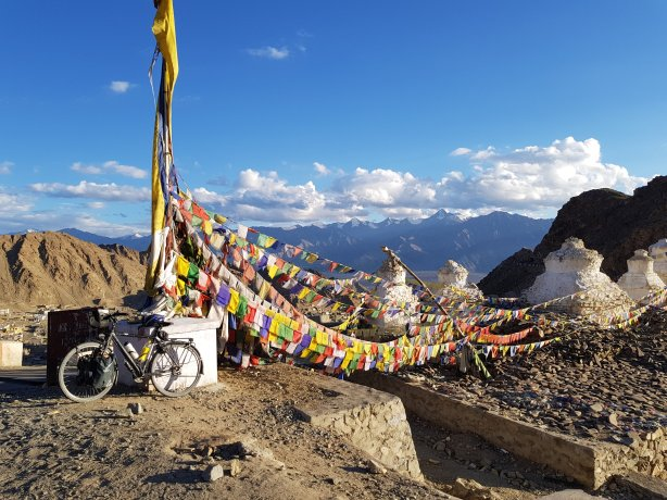 Gompa above Leh