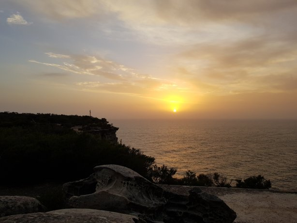 Sunrise at the North Head
