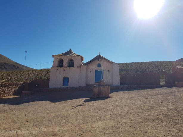 Historic church at Machuca