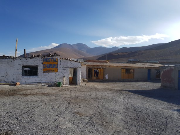 Hostel at Laguna Colorada