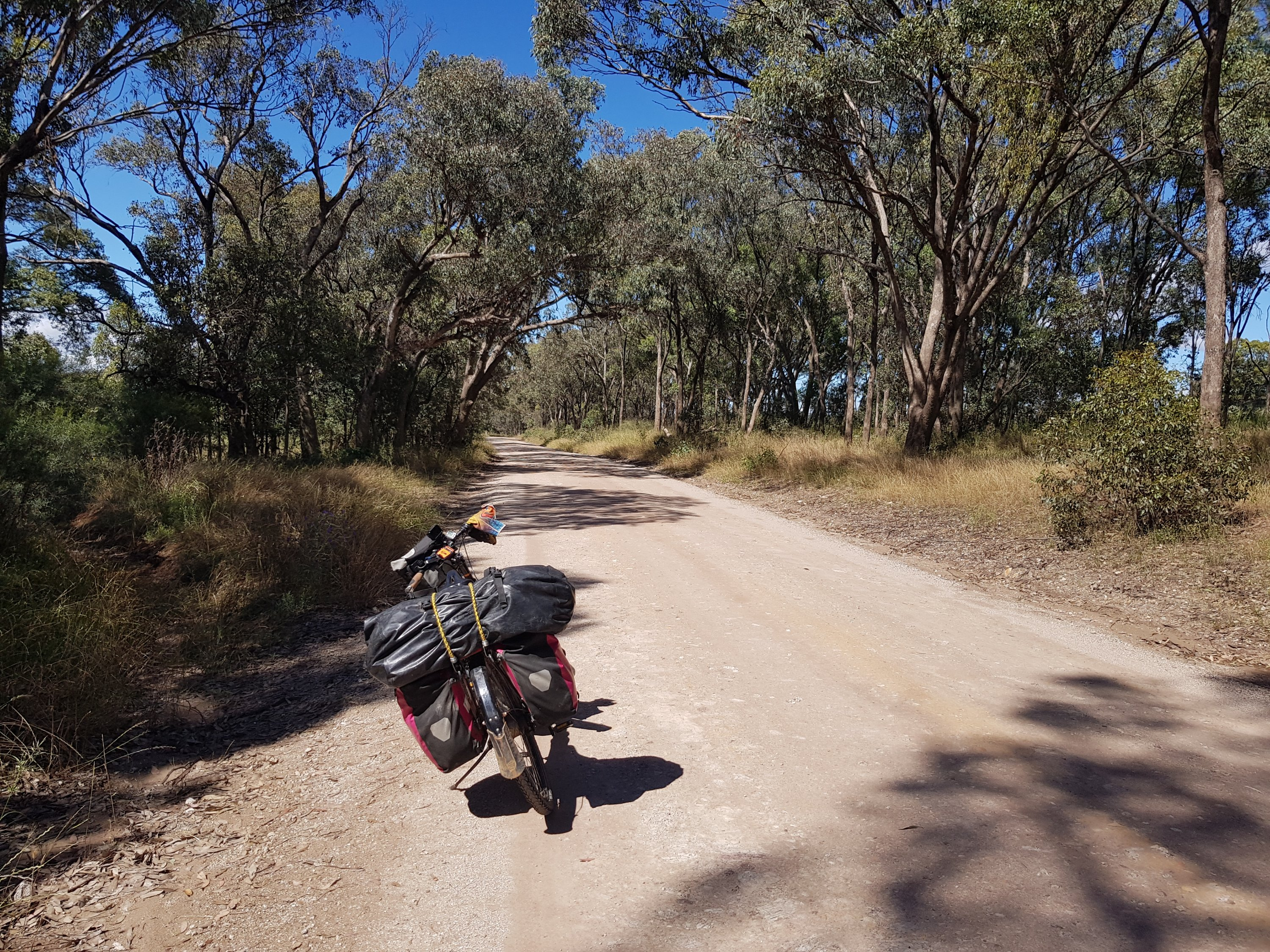The road to Gulgong